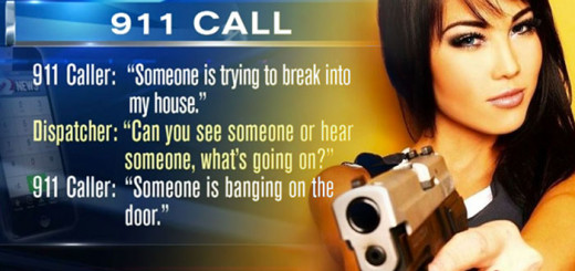 911 Home Defense Call