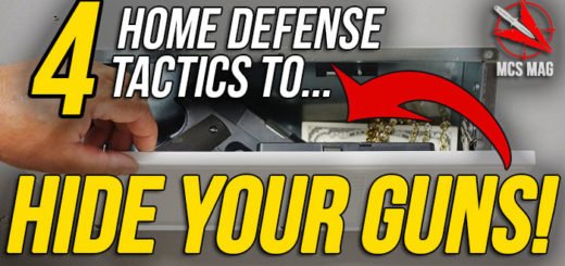 Where To Hide Your Guns For Home Defense