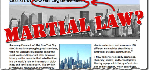 Military Martial Law Plan New York City