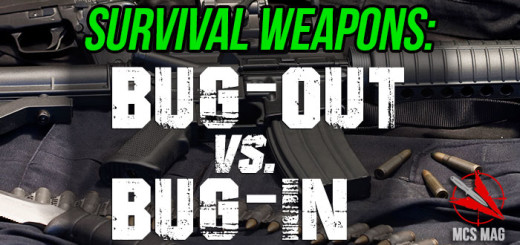 Best Survival Weapons For Bugging Out And Bugging In