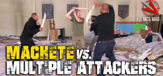 Survival Weapons - Machete Vs Multiple Attackers