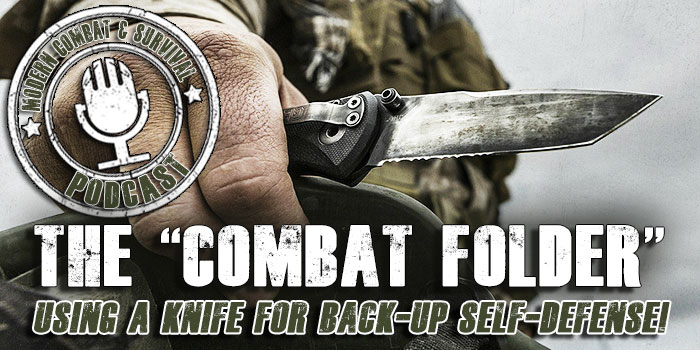 Combat Folder Knife Fighting Tips