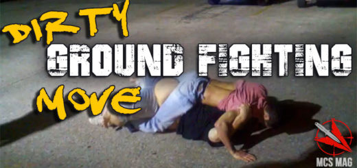 Real Street Fight Ground Fighting Technique