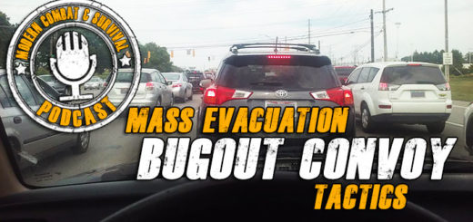 Bugout Evacuation Traffic Survival Planning