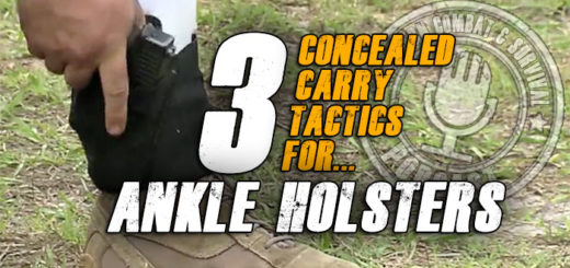 Concealed Carry Ankle Holster Techniques
