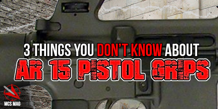 Assault Rifles: Best AR15 Pistol Grips Tips